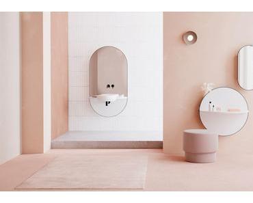 Une salle de bain tout en rondeur