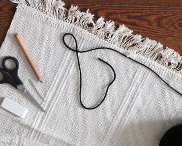 Coussin brodé DIY : le IKEA hack Sortsö