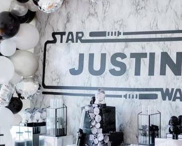 Un anniversaire thème Star Wars tu organiseras !