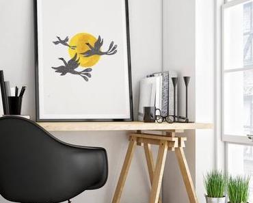 L'oiseau dans la déco