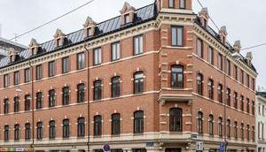Visite d'un appartement familial dans quartier Linné Göteborg