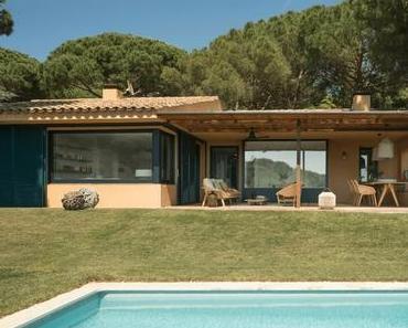 Une maison en pleine nature sur la côte catalane