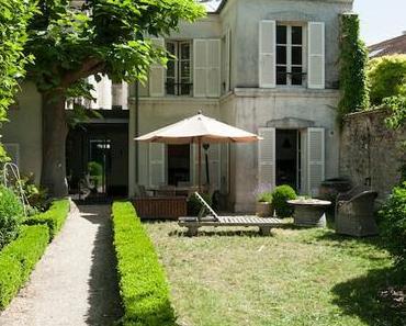 Une maison colorée à Saint Germain en Laye
