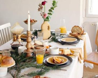 Ma table de petit déjeuner de Noël…