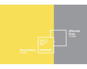 Les couleurs tendances de l'année 2021 sont dévoilées : le jaune Illuminating et le gris Ultimate Gray !