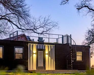 Maison conteneur : l'incroyable tiny house à louer sur Airbnb