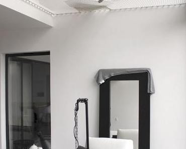 Un filet d'habitation pour une mezzanine design