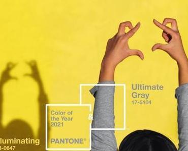 Ultimate Grey et Illuminated, les couleurs de l'année by Pantone
