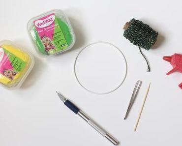 Faire une couronne de fleurs DIY : les mimosas en WePAM