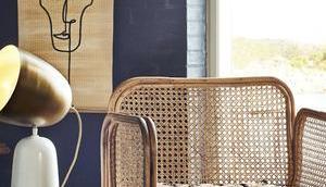 trouver fauteuil cannage design vintage